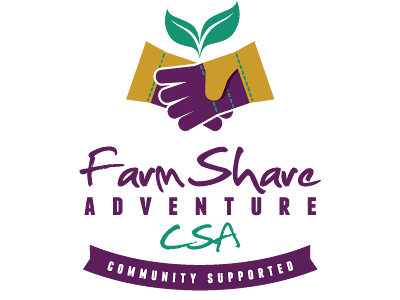 Urban Farming Institute's FarmShare Adventure CSA logo