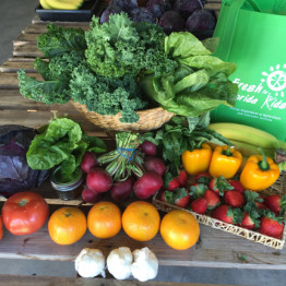 FarmShare Adventure CSA and Warehouse Market at the Urban Farming Institute