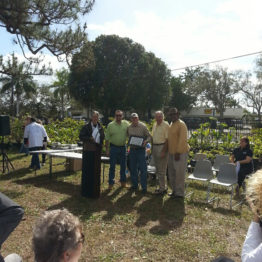 Micro Bee Apiary Groundbreaking Ceremony at the Urban Farming Institute