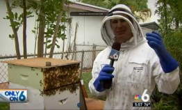 John Coldwell of the Urban Farming Institute's Micro Apiary and Coldwell Construction.