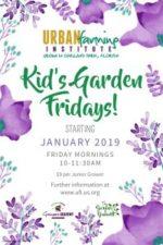 Kids Garden Fridays at Urban Farming Institute